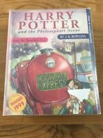 Harry Potter and the Philosopher's Stone 6 Audio Cassette Tapes Unabridged Fry
