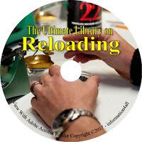 Reloading Ammunition Firearm Reload Ammo Self Sufficiency Survival Books on DVD