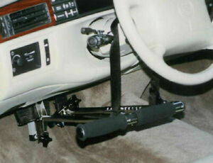 Driving Aid Portable Hand Controls for Automatic Car. Disability Handicap - SCI