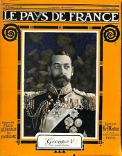 Portrait George V King of the United Kingdom British Dominions London 1915 WWI