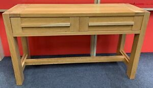 MARKS AND SPENCER Sonoma Light Oak Console Hall Table - CIS W51