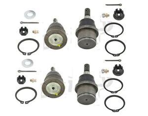 For Chevrolet Express GMC Savana Set of 2 Front Upper & Lower Ball Joints MOOG