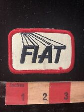 Vintage Car Related FIAT Patch S99Z