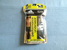 ADIDAS Lot of 2 Men's Stretch CLIMALite SPORT Boxer Briefs sz L NWT