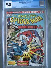 Amazing Spider-Man #130 CGC 9.8 WP Marvel Comics 1974 1st app Spidermobile