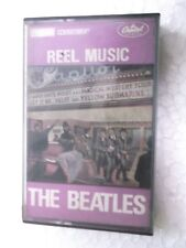 THE BEATLES  REEL MUSIC   1988 RARE orig CASSETTE TAPE INDIA indian