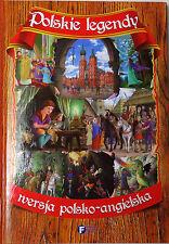Polish Book. Polish Legends, polish - english version. Polskie Legendy PL - EN.