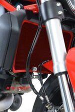 R&G RACING RED Radiator Guard Ducati Monster 1200S (2014 onwards)