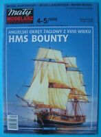 Mały Modelarz 4-5/2006 - British armed vessel HMS Bounty