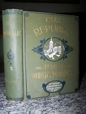 1900 Our Republic and a Review of the World's Progress, Official Census of 1900