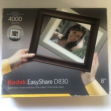 """Brown Digital Kodak EasyShare D830 8"""" Picture Frame. Can Use any 8x10 frame"""