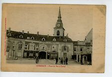 Commercy—Place du Fer a Cheval—CPA Meuse FRANCE Antique Market Square 1910s