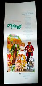 Song of Norway 1971 Vintage Insert Poster Florence Henderson Toralv Maurstad (A)
