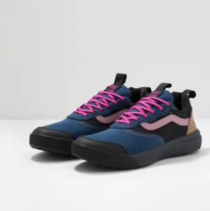 Vans Mens UltraRange Gibraltar Sea Blue Ebony Black Skate shoes Size 12 New