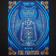 Foo Fighters Poster 7/19/2015 Fenway Park Boston MA Signed & Numbered #/100 A/E