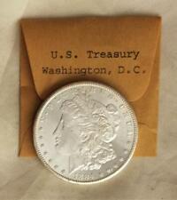 Choice Uncirculated 1884 CC Morgan Silver $ From U.S. Treasury Free USA Shipping