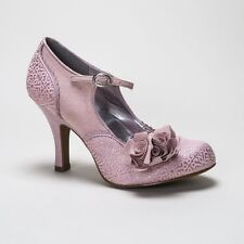 High Heel (3-4.5 in.) Mary Janes Textile Shoes for Women