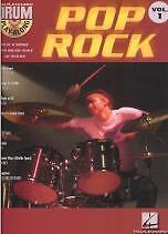 DRUM PLAY ALONG 01 Pop Rock Book & CD