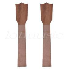 2 Pcs Ukulele Neck for Tenor Banjo Ukelele Uke Banjolele Diy Parts Unfinished