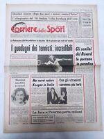 CORRIERE DELLO SPORT 29-12-1978 CLASSIFICA GUADAGNI TENNISTI BETTEGA PAOLO ROSSI