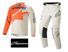 ALPINESTARS 2021 YOUTH RACER BRAAP Motocross Jersey/Pants ORANGE/GREY/BLUE