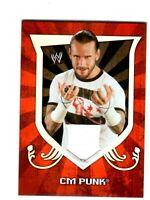 WWE CM Punk 2011 Topps Classic Event Worn Shirt Relic Card FD30