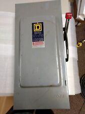 Square D Fused Disconnect 100 Amp 240v