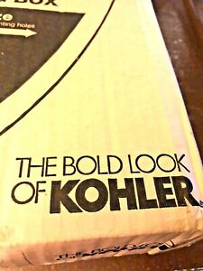 "NEW KOHLER Elongated Quiet Close Toilet Seat 185/8"" X 143/16"" White (Blanco)DIY"
