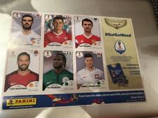 Panini World Cup Russia 2018 Six Player Sticker Sheet 3 - The Sun
