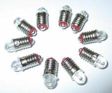"""LED Ersatzlampen  E5.5 16-24V  -  10 x   """"NEU"""""""
