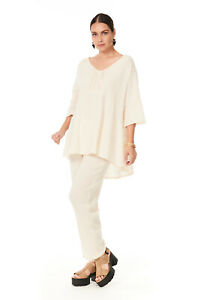 Oh My Gauze Canal  Blouse 100% Cotton Lagenlook