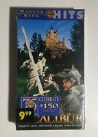 Excalibur VHS Video / New Factory Sealed / Warner Bros. Hits