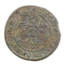 Jeton de Compte de Nuremberg au globe crucigère 1586-1635