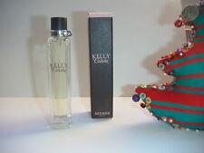 JOLI  spray  KELLY CALECHE  de  HERMES   plein + BOITE  NEUVE 15 ML VAPO SAC