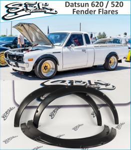 JDM Style Fender Flares Set Datsun 620 Datsun 520, 4pcs set, 50mm 1.9 Inch.