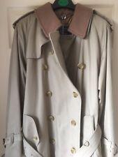 "Men's Burberry Coat (Unisex) - 52"" B87D - Only Worn Once - Excellent Condition"