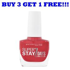 Maybelline Nail Polish Superstay 7 Days 10ml Forever Red 505