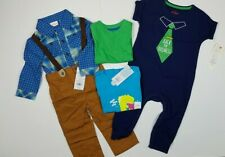 Mixed Lots Baby Boy Size 12 Months Fall Clothes 5 Pieces Bundle Lot New With Tag