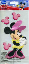 "Disney EK Success ""MINNIE MOUSE"" Dimensional Scrapbooking Stickers - AE21"