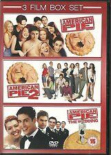 AMERICAN PIE * AMERICAN PIE 2 * AMERICAN PIE THE WEDDING - 3 DVD BOX SET