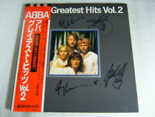 AUTOGRAPHED / ABBA GREATEST HITS VOL 2 / ot