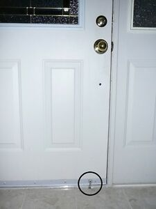 PegLok Home Security Door Blocking Lock - Stop forced entry NOW! Easy and Cheap