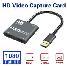 1080P 60fps Loop Out Broadcasting 4K HDMI USB3.0 Video Capture C ZC
