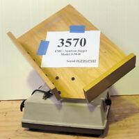 "FMC Technologies Syntron J-50-B 14""x20"" Tilt Rack Paper Jogger - Inventory# 3570"