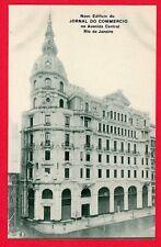 1908 Postcard Rio de Janeiro, BRAZIL, Novo Edificio do Jornal do Commercio