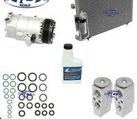 A/C Compressor & Condenser Kit Fits Pontiac Vibe 2003-2008 L4 1.8L OEM CVC 67282