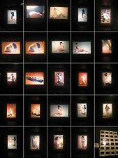 Akt Studien-Erotik.Nude-24 x  Fotographie 1960. Jahre Farbe-Act study erotic-11