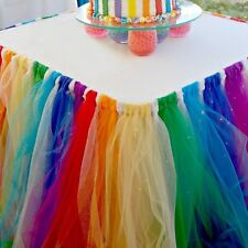 Table Skirt Cover Birthday Wedding Banquet Baby Shower Party Decor Table Cloth