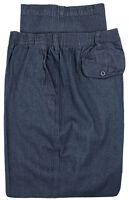 Big & Tall Men's Falcon Bay Casual Denim Pants FULL ELASTIC Waist Sizes 44 - 66