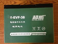 ChillWee 6-EVF-38, 35ah High Discharge Electric Bike batteries.